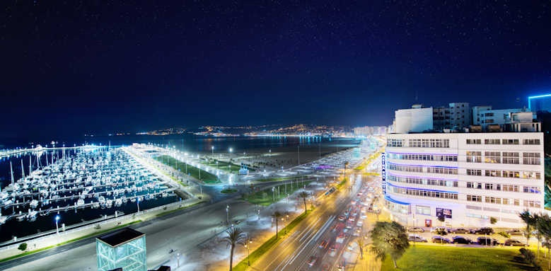 Marina Bay Tangier, night view