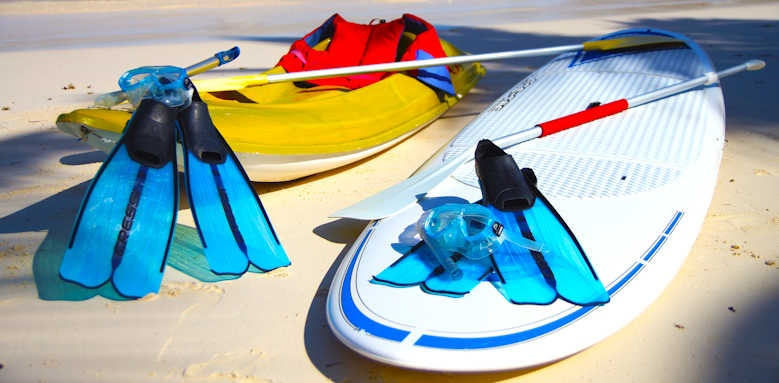 Hotel L'Archipel, water sport equipment