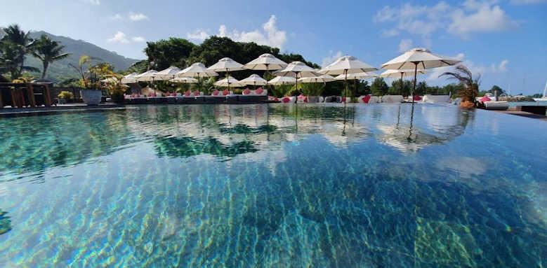 Le Domaine de L'Orangeraie Resort & Spa, pool area