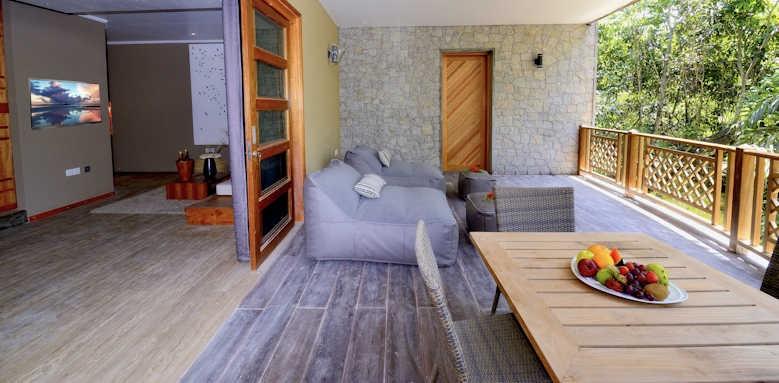 Le Domaine de L'Orangeraie Resort & Spa, Garden suite terrace