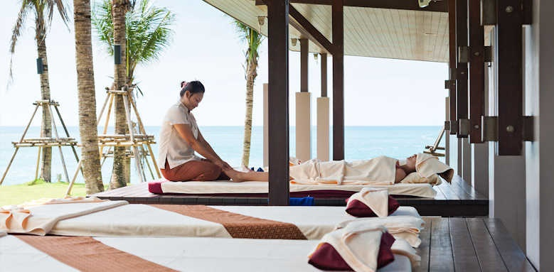 The Sands Khao Lak by Katathani, massage area