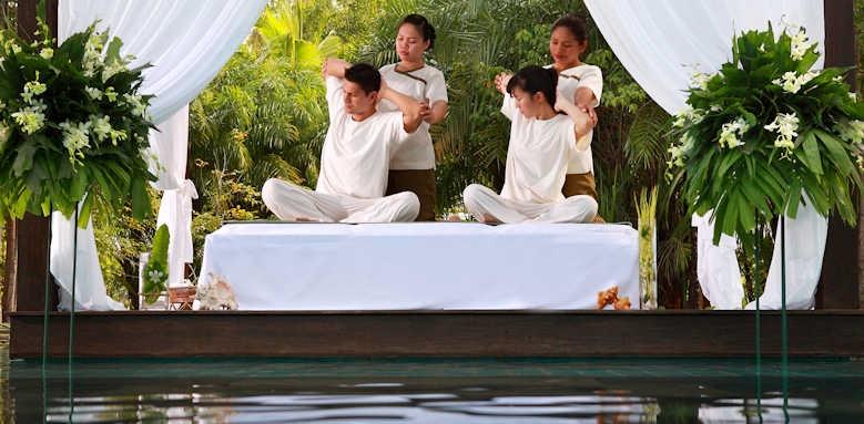 The Sarojin, massage