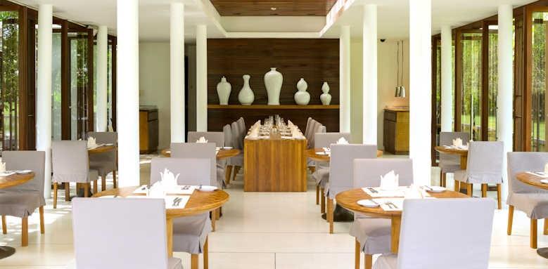 The Sarojin, inside ficus restaurant
