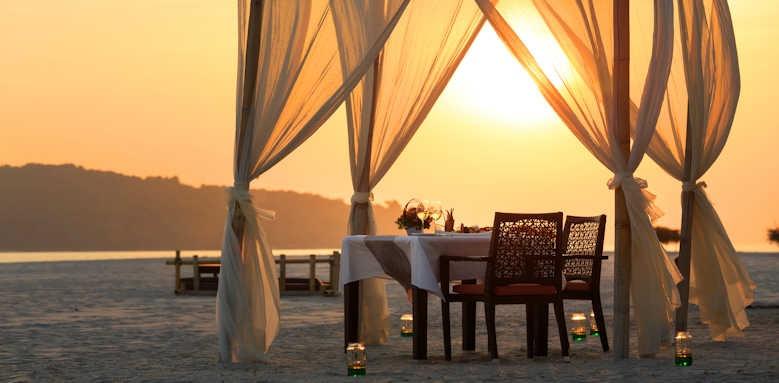 Pelangi Beach Resort & Spa, sunset