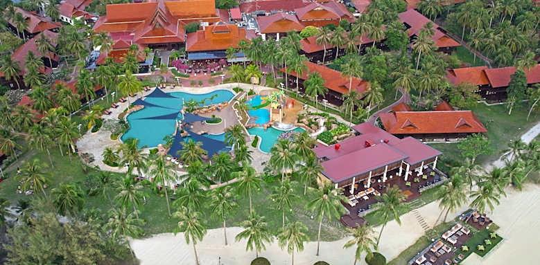 Pelangi Beach Resort & Spa, aerial view