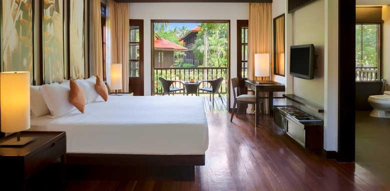 Pelangi Beach Resort & Spa, garden terrace area