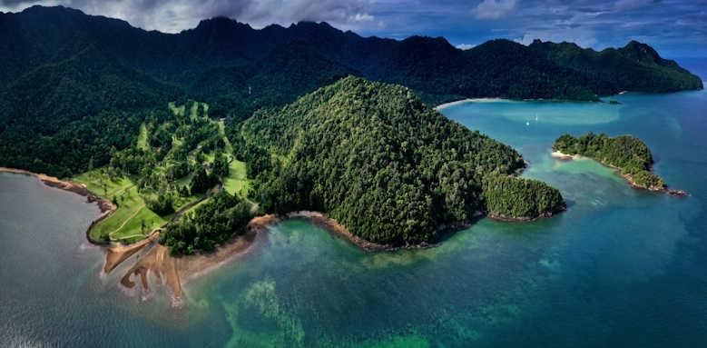 The Datai, aerial shot