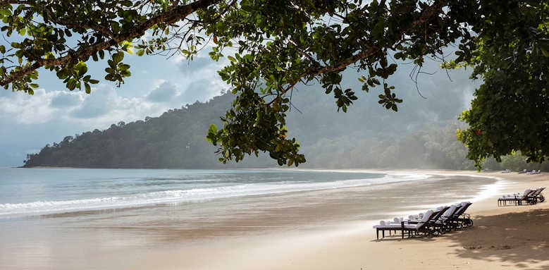 The Datai, beach