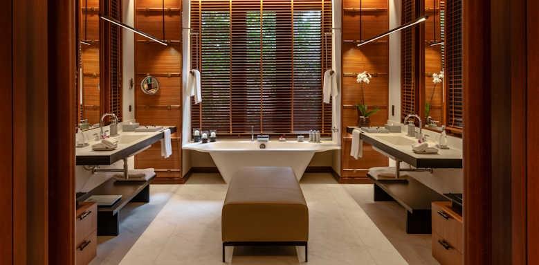 The Datai, Rainforest Villa bathroom