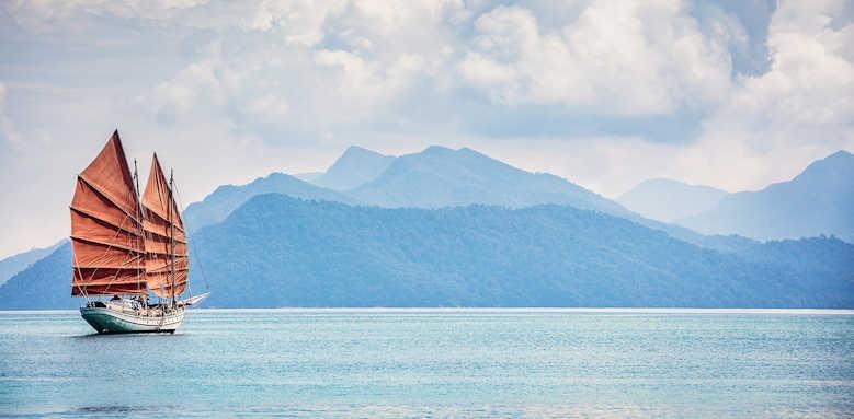 The Datai, sea view