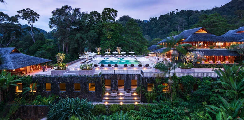 The Datai, view over hotel