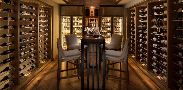 Anantara Iko Mauritius, wine cellar