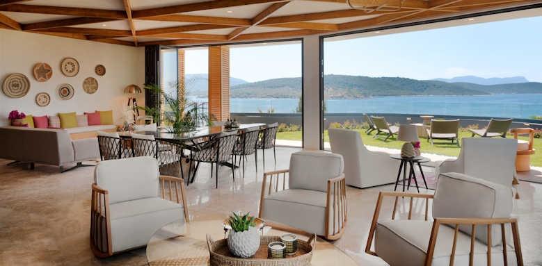 Le Meridien Bodrum Beach Resort, sitting area