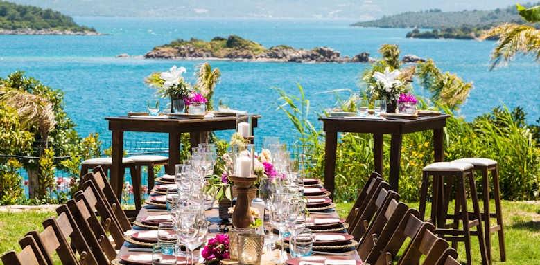 Le Meridien Bodrum Beach Resort, Wedding set up