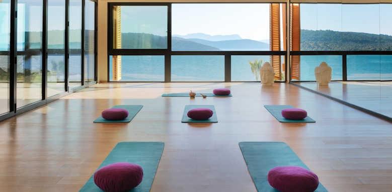 Le Meridien Bodrum Beach Resort, yoga