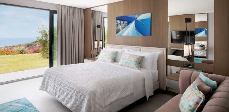 Le Meridien Bodrum Beach Resort, Deluxe Sea View with Sofa