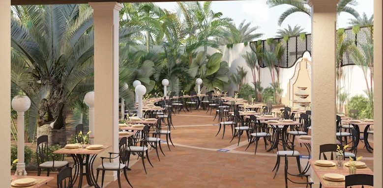Secrets Bahia Real Resort & SPA, World cafe terrace
