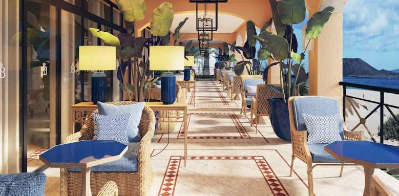 Secrets Bahia Real Resort & SPA, rendezvous terrace