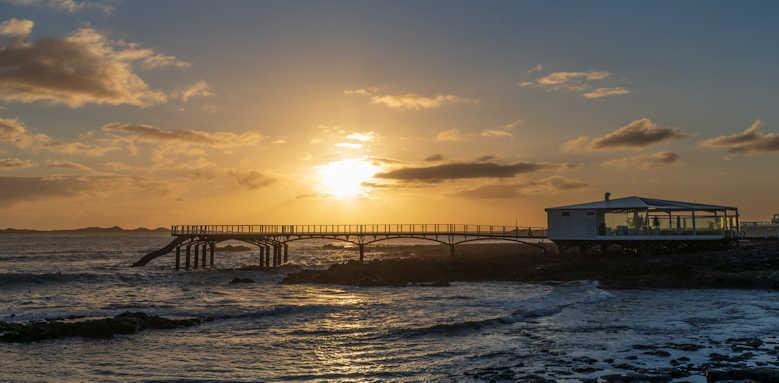 Secrets Bahia Real Resort & SPA, sunset