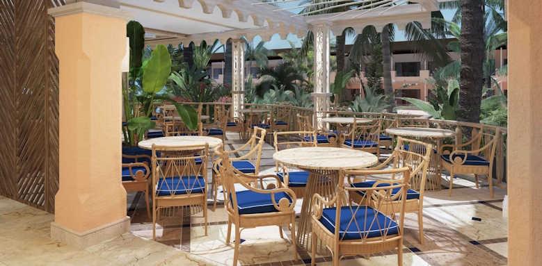 Secrets Bahia Real Resort & SPA, seaside grill terrace