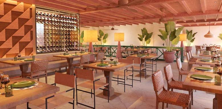 Secrets Bahia Real Resort & SPA, Canario restaurant