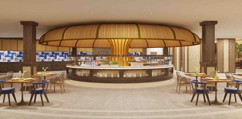 Secrets Bahia Real Resort & SPA, world cafe