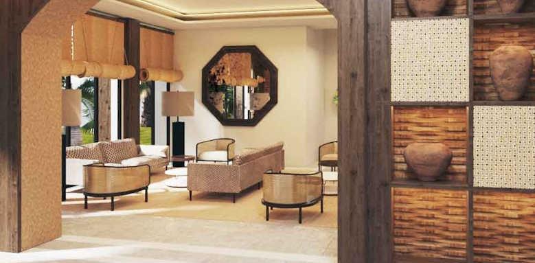 Secrets Bahia Real Resort & SPA, world cafe lobby