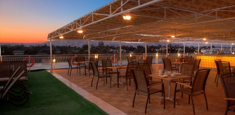 Steigenberger Legacy Nile Cruise, Sun Deck
