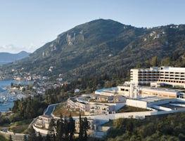 Angsana Corfu, aerial view