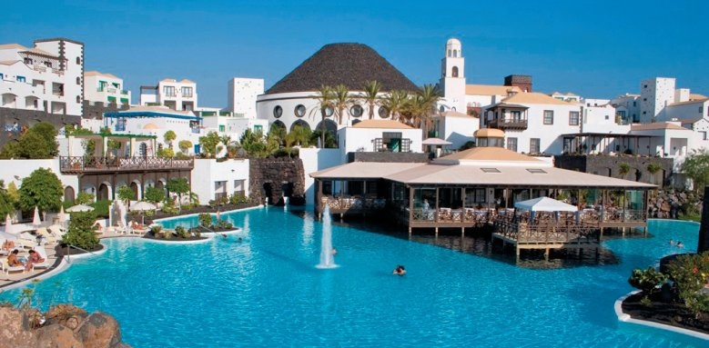 Hotel Volcan Lanzarote, resort view