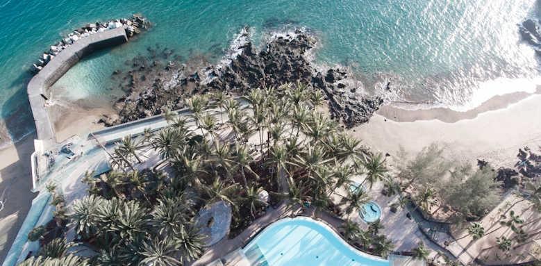 Los Fariones, aerial view