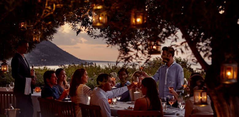 Anassa, helios restaurant