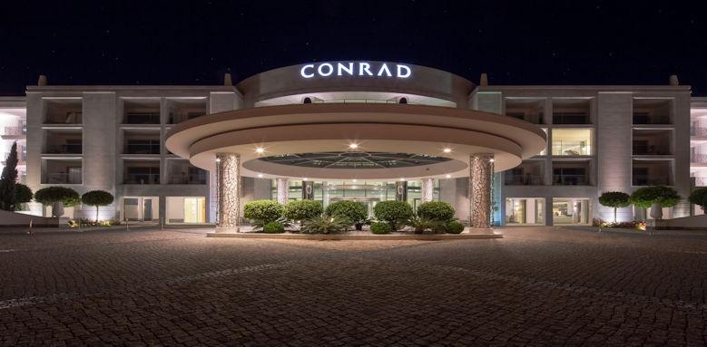 Conrad Algarve at night