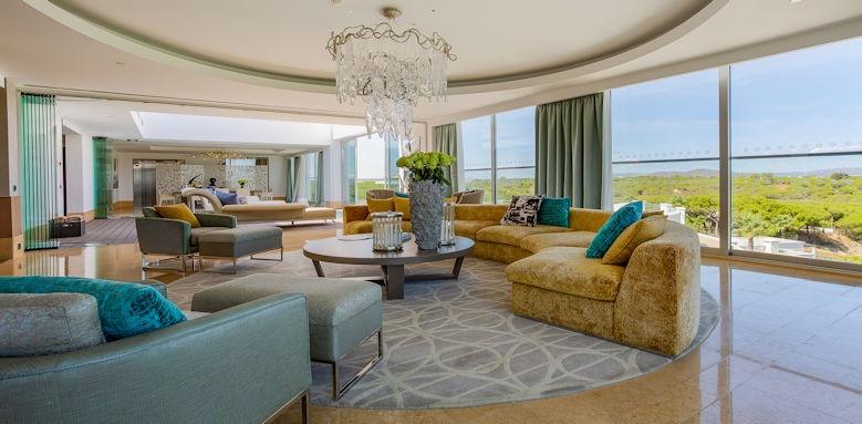 Conrad Algarve Roof Garden Suite Living Room