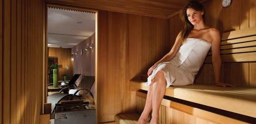Best Western Slon, sauna