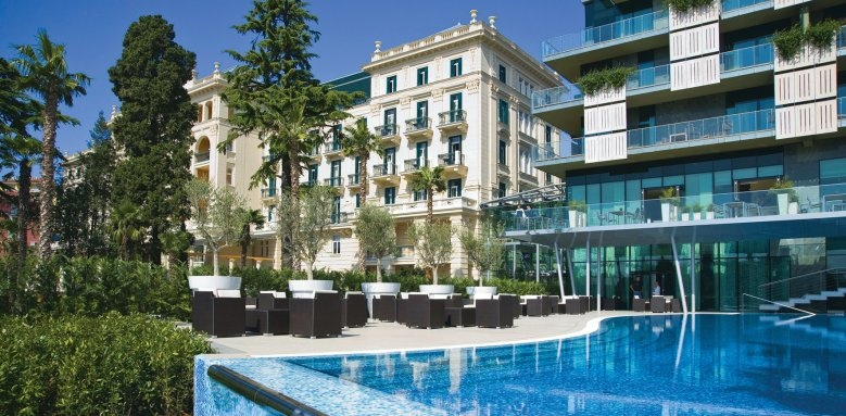 Kempinski Palace Portoroz, exterior and pool