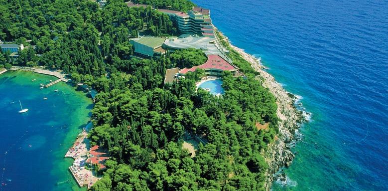Hotel Croatia, view