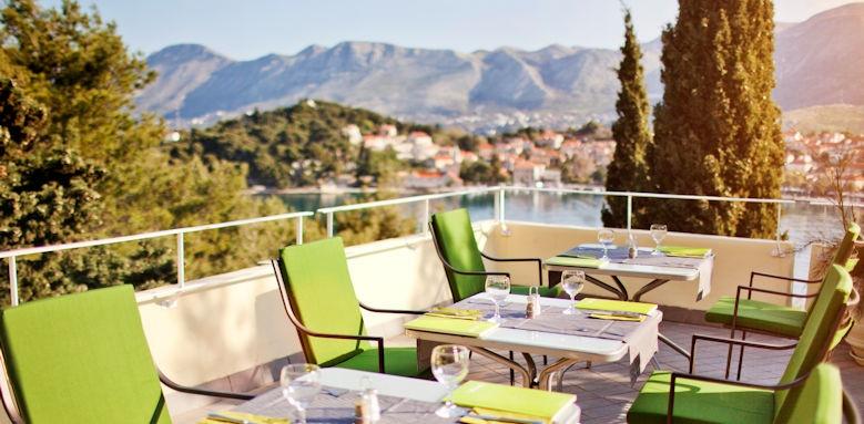 hotel Croatia, Alverde terrace