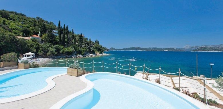 Lafodia Sea Resort, pool & sea view