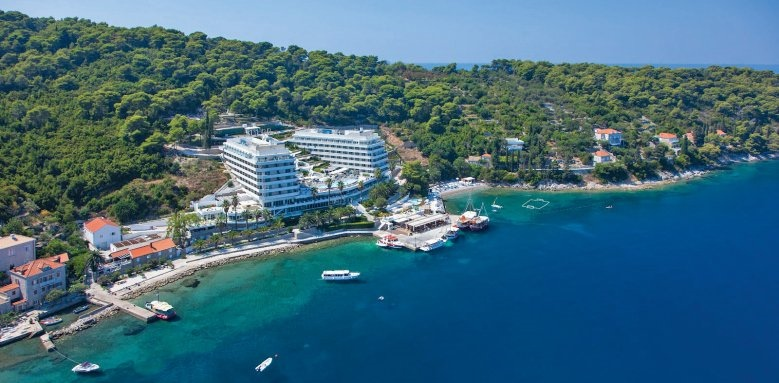 Lafodia Sea Resort, aerial view