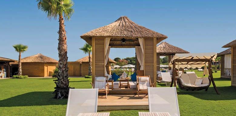 Regnum Carya Golf & Spa Resort, beach suite cabana