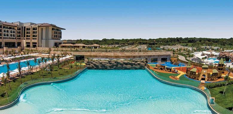Regnum Carya Golf & Spa Resort, Wave pool