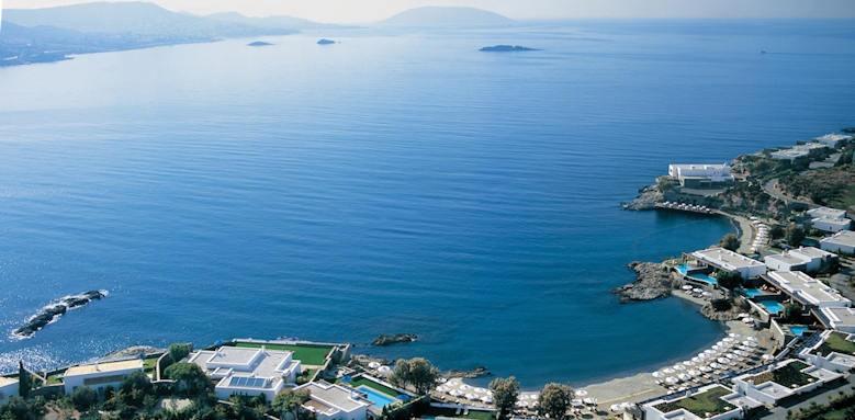 Grand Resort Lagonissi, east side