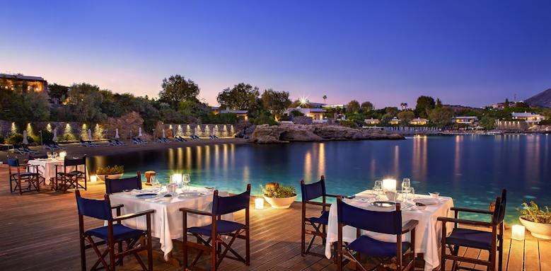 Grand Resort Lagonissi, restaurant