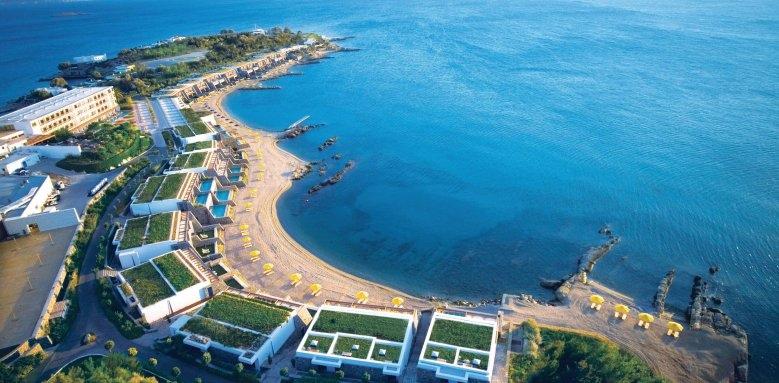 Grand Resort Lagonissi, westside panorama