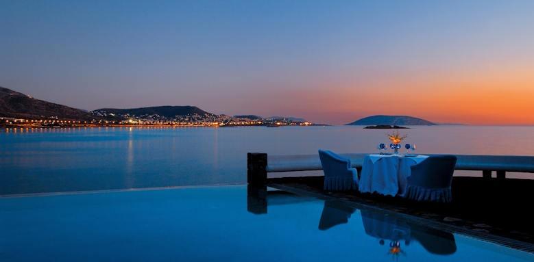 Grand Resort Lagonissi, sunset