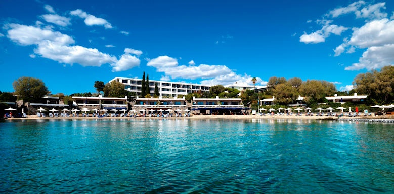 Grand Resort Lagonissi, beach