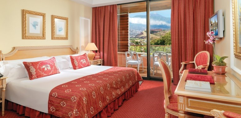 Botanico, deluxe double with mount teide view