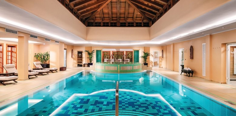 Botanico, indoor pool