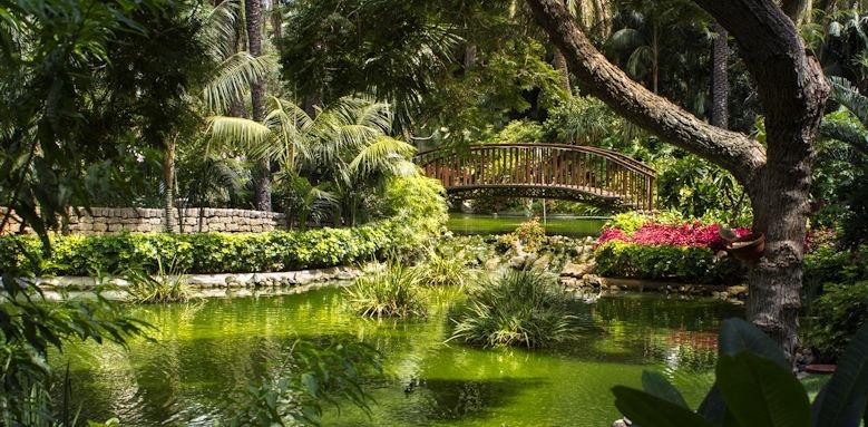 Hotel Botanico, garden